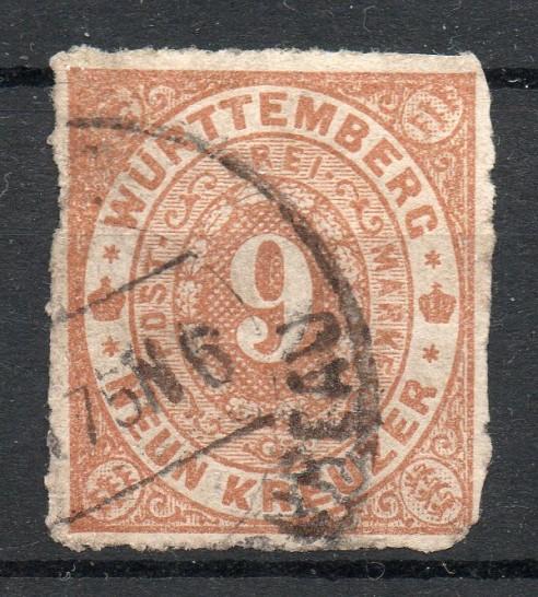 Altdeutschland Württemberg Briefmarken Reparatur
